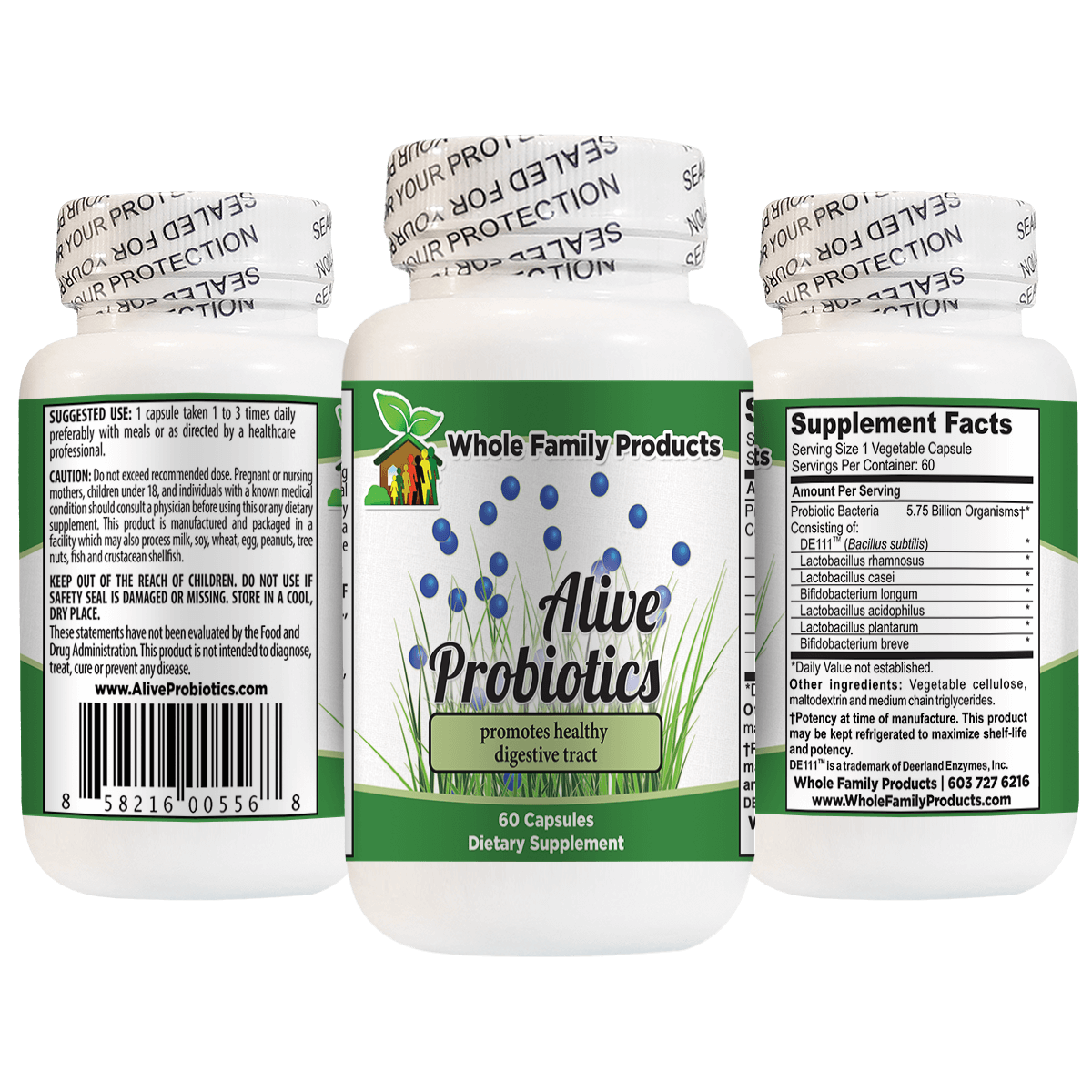 Best Probiotic Supplement Alive Probiotics 60 Capsules